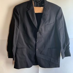 Hugo Boss Blazer Black/Blue Size 44R